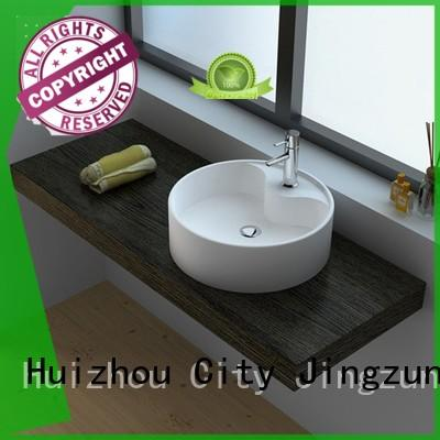 customized stone bathroom basins vessel manufacturer for guesthouse