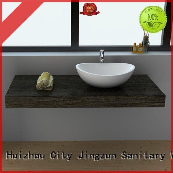 Hot solid surface countertop options jz9030 Solid Surface Wash Basin jz9039 JINZUN