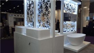The Brand New PMMA Solid Surface Kitchen Sink-- JINGZUN BATH